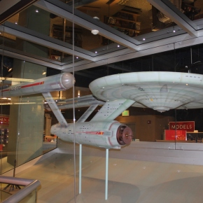Two Buffalo State professors working to restore the starship Enterprise